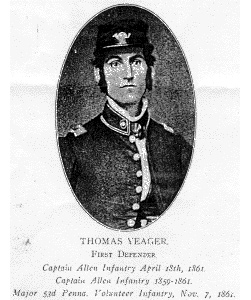 Major Thomas Yeager