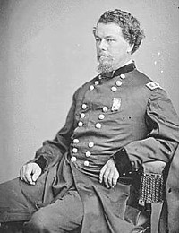 Maj. General Horatio Wright Wright took command of the Sixth Corps after the death of General Sedgwick on May 10 at Spotsylvania Court House. (National Archives)